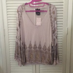 Free people purple shirt